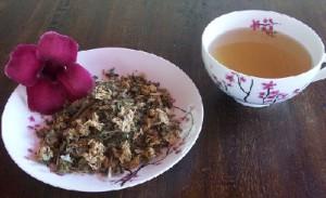 Frauen Tee Schöne Beine Tee